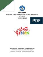 Pedoman FLS2N 2015