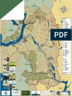 Mapa Turístico Región de Cochamó