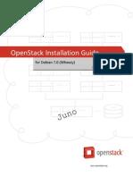 Openstack Install Guide Apt Debian Trunk