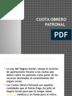 CUOTA OBRERO PATRONAL