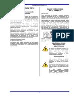Manual Bomba PD 75 Español