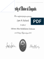 substance abuse certificate