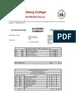 lynchburg college transcripts
