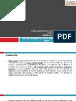 Sistema Acusatorio Adversarial - Sujetos Procesales
