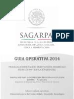 Guia Operativa IDETEC 2014