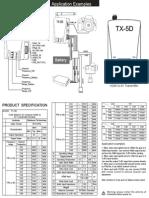 TX 5D Manual