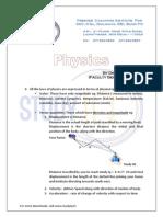 Physics Capsule Ssc by StudyIQ