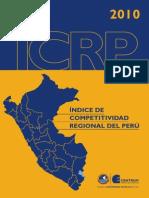 CENTRUM Indice Competitividad Regional 2010
