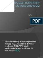 ARDS (Adult Respiratory Distress Syndrome)
