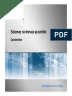 Geosinteticos, Sistemas de Drenaje Sostenible
