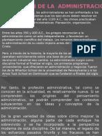 LA EVOLUCIÓN DE LA  ADMINISTRACIÓN.pptx