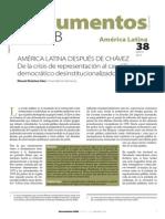 Alcántara Sáez, M. - America Latina Después de Chavez