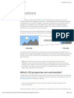 Using CSS transitions - Web developer guide | MDN