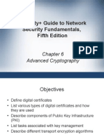 Chapter 6 - Advanced Cryptography