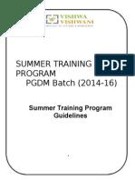 PGDM STP Guidelines (1)