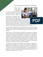 Aplicación de Conocimientos Generales de Enfermeria