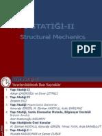 Yapı Statiği II Dersi Sunusu