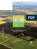 Toward Sustainability