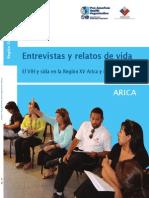 Entrevistas y Relatos de vida sobre el VIH en la Región de Arica y Parinacota.