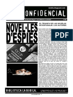 L'H Confidencial, 102. Novel·les d'espies