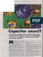 Capacitor Sound