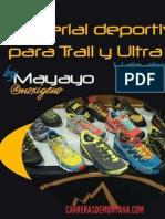 Material Trail Runinng y Ultra Trail Por Mayayo. Ponencia Training Camp La Granja 4abr15