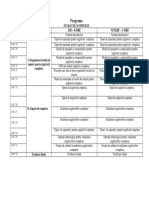 Planifica Calendaristica XI-zugraveli