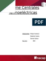 Informe Centrales Termoelectricas