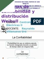 Presentacion Confiabilidad y Weibull