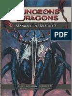 Manuale Dei Mostri 3