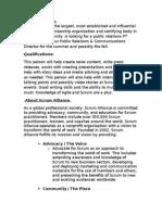 Scrum Alliance PR Internship_Paid