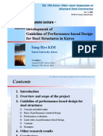 Development of Guideline of Performance-based Design for Steel Strctures in Korea.pdf