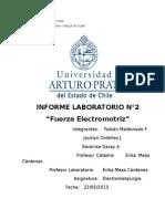 Informe 2 Electrometalurgia_ FEM Modificado