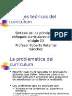 EnFoQues teoriCos Del Curriculum