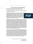 A Design Science Research Metodology