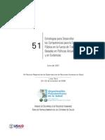 HR Series 51 Estrategias Desarrollar Competencias Salud Publica en Fuerza Trabajo