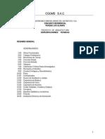 ESPECIFICACIONES TECNICAS PARA UN EDIFICIO MULTIFAMILIAR DE VIVIENDAS EN PERU