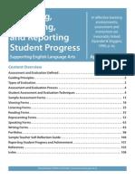 Assessing Evaluting Reporting Student Progress