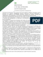 Funciones Consejo Escolar LOMCE.