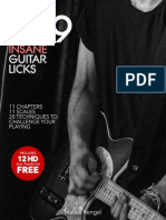 299 Insane Guitar Licks + 12 HD Jam Tracks for FREE - Matias Rengel