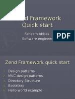 Zend Framework Quick Start2