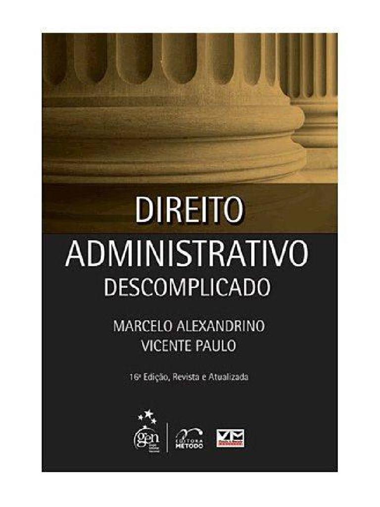 Direito constitucional descomplicado marcelo alexandrino pdf converter