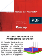 Análisis técnico de un proyecto