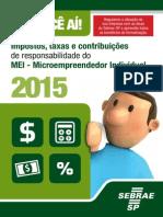 Cartilha MEI Impostos e Taxas Previdencia 2015
