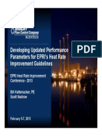 Developing Updated Performance Parameters for EPRI Heat Rate Improvement Guidelines