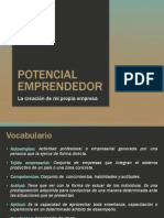 Potencial Emprendedor