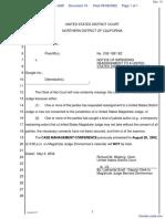 Overture Services, Inc. v. Google Inc. - Document No. 10
