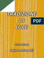 Tradizione Di Luce Hajja Amina Adil Primo Volume