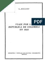 Viaje Por La República de Colombia en 1823