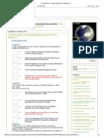 Questionário Interpretação de Textos - Geografia- Interpretação-texto-questionário